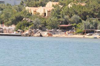 Ayvalik Beach хотел отвън